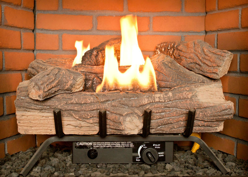 Gas insert vs gas logs. If you've made the decision to go with a gas fireplace