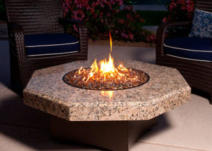 Custom Gas Fire Pits Denver